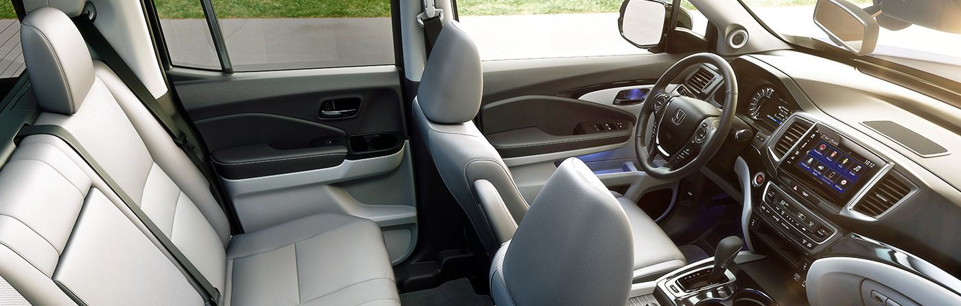 You'll Love the Ridgeline's Spacious Interior!