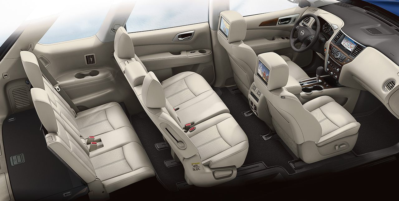 You'll Love the Pathfinder's Massive Interior!