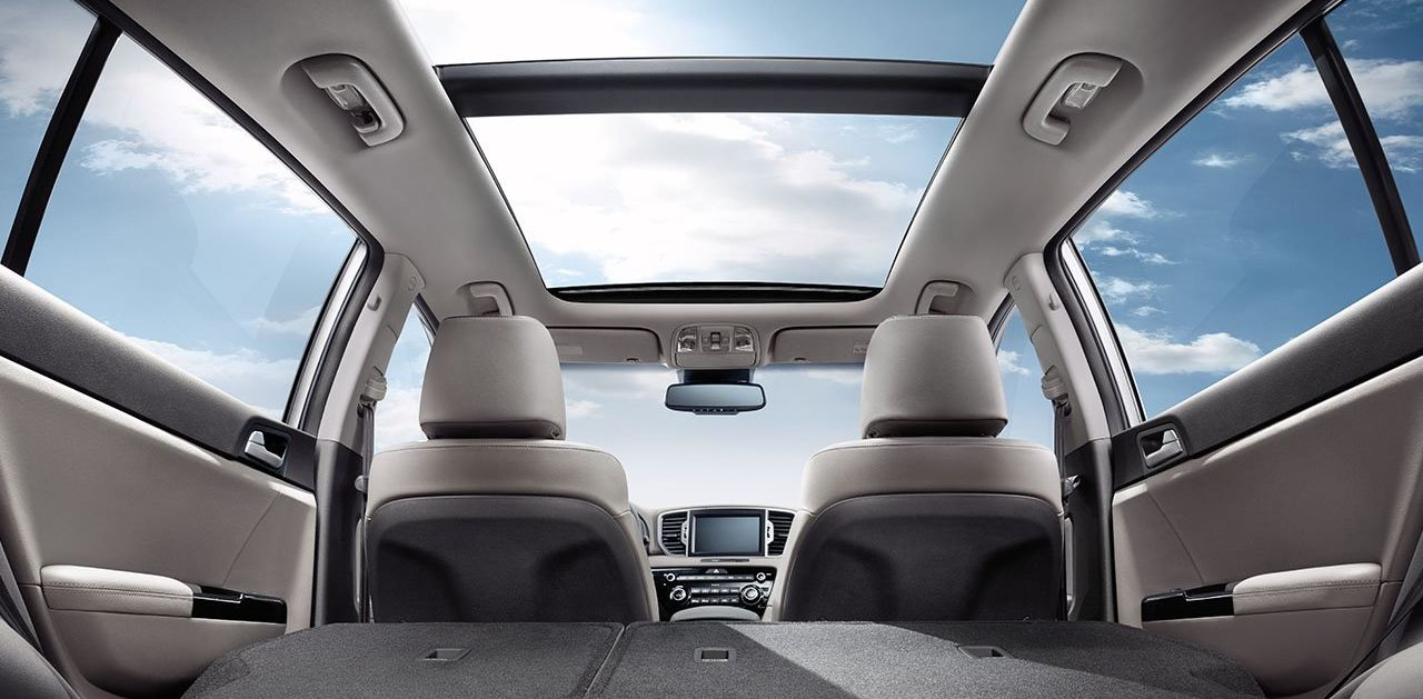 Available Features for the Sportage