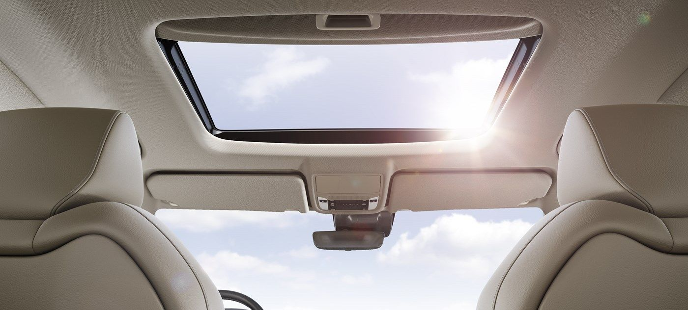 The MDX's Dazzling Moonroof