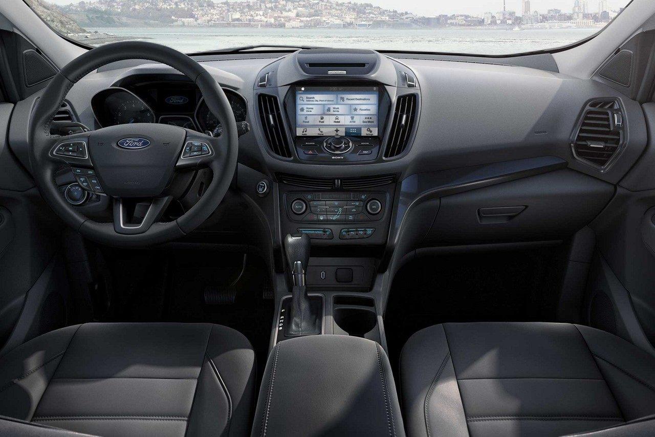 Interior of the 2019 Chevrolet Escape