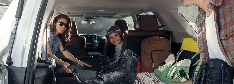 Versatile Storage in the 2019 Toyota 4Runner