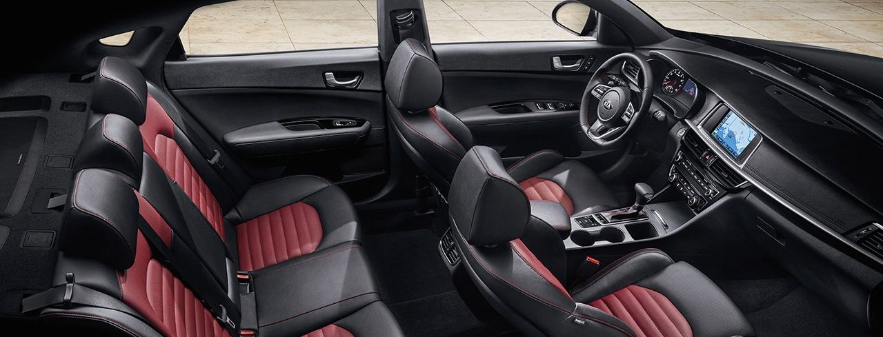 Sporty Seating Options in the Optima!