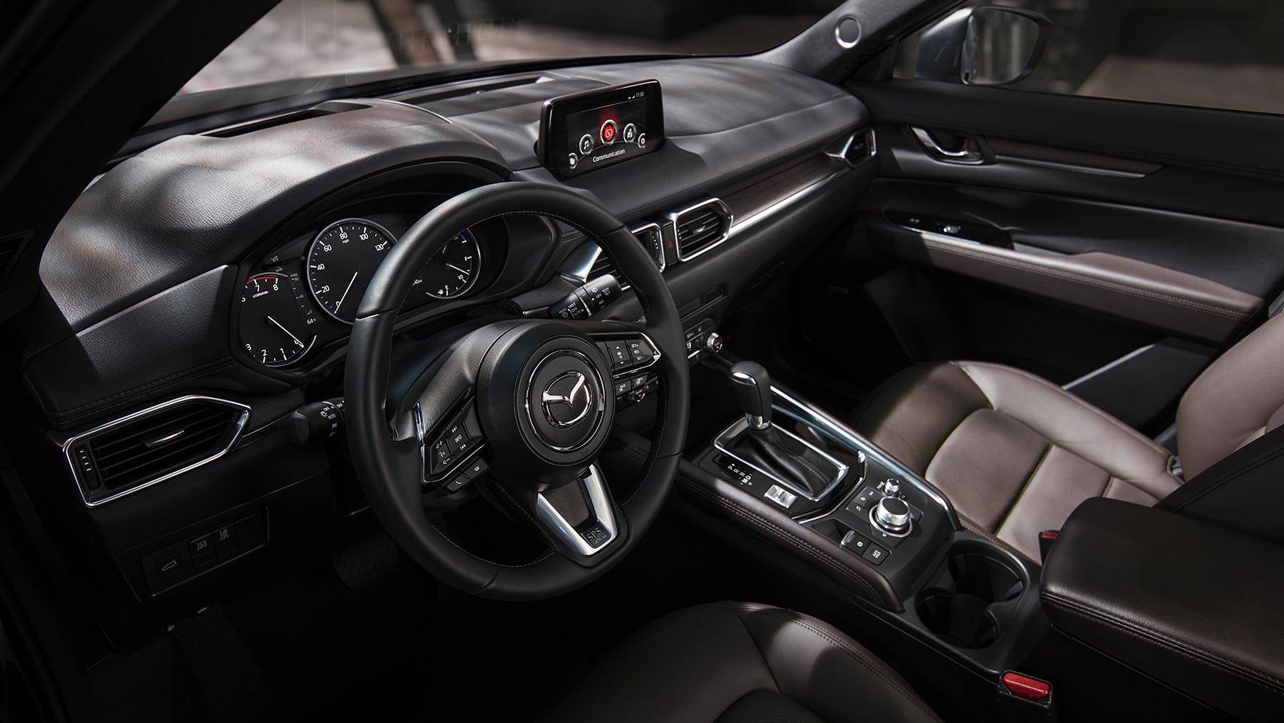 Interior of the 2019 Mazda CX-5