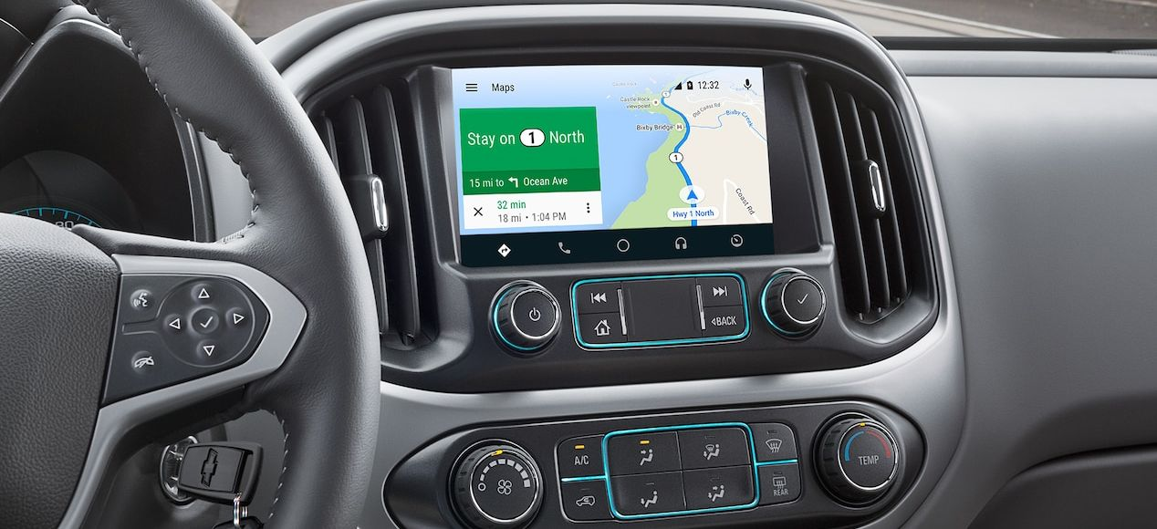 Navigation System in the Chevy Colorado