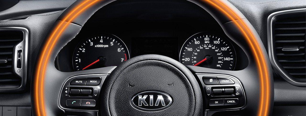 2019 Kia Sportage HUD