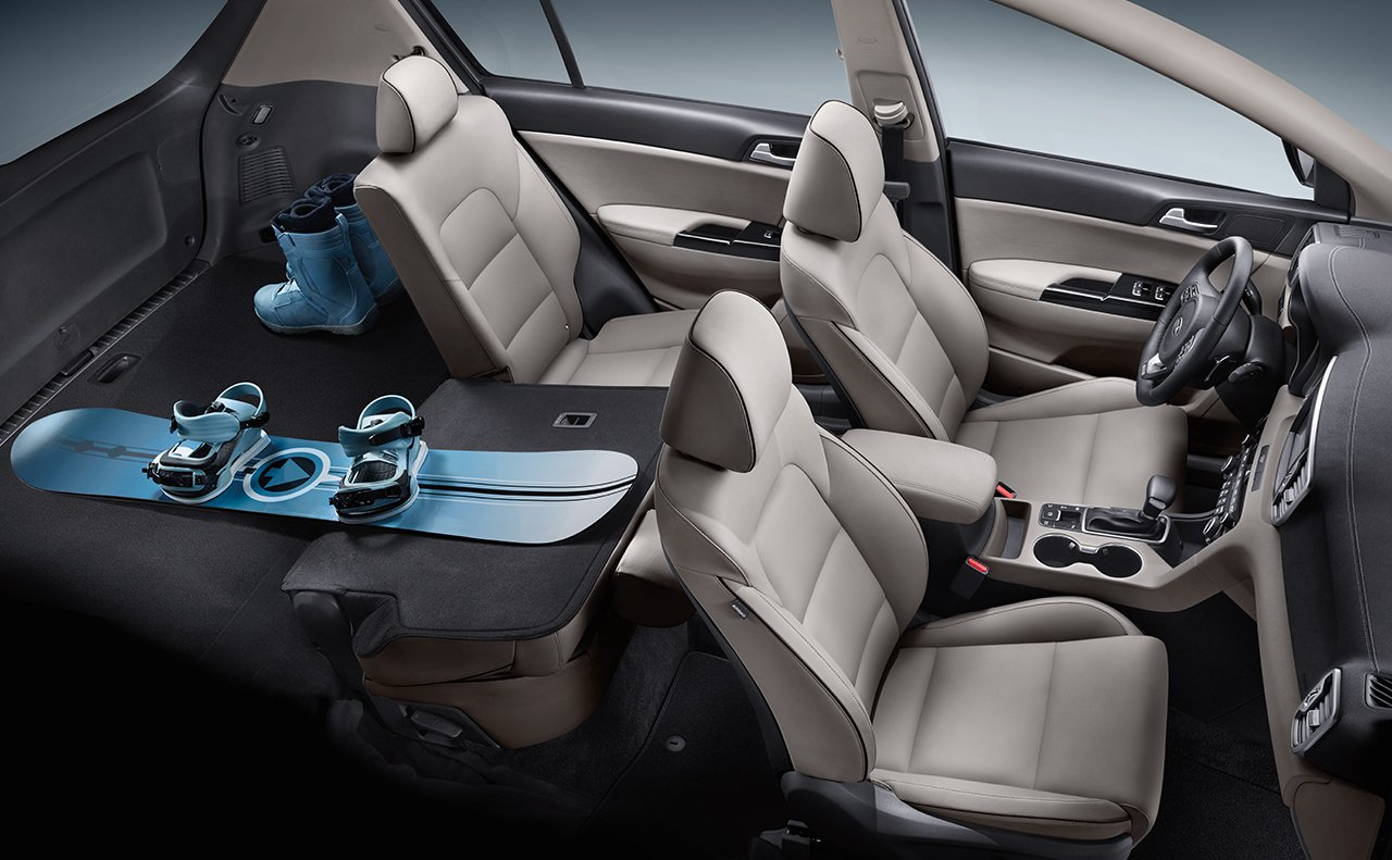 Enjoy the 2019 Sportage's Great Storage!