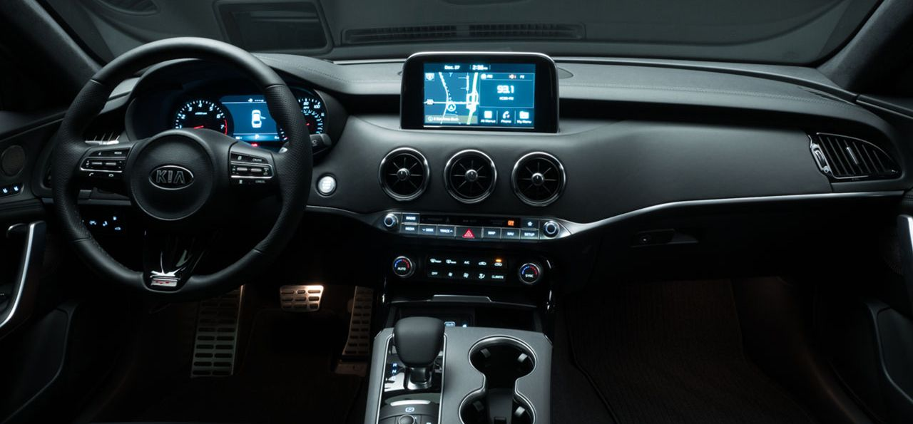 Advanced Interior of the 2019 Stinger