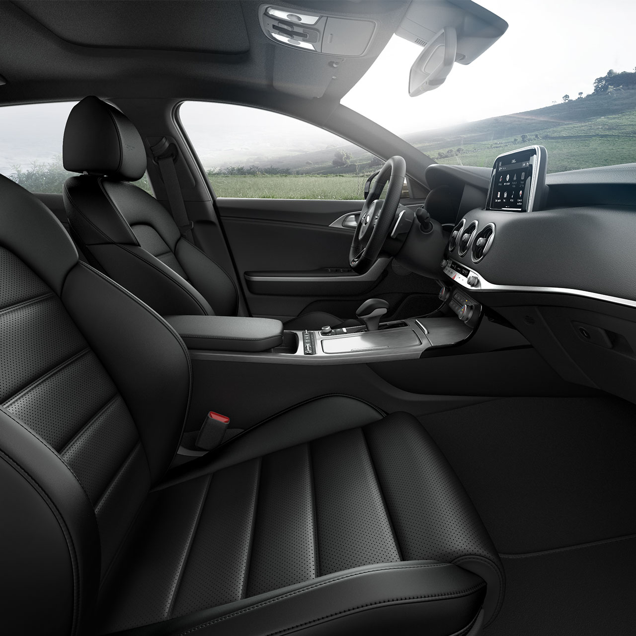 Cozy Seats in the 2019 Stinger