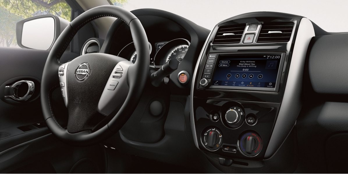 2019 Nissan Versa Center Console