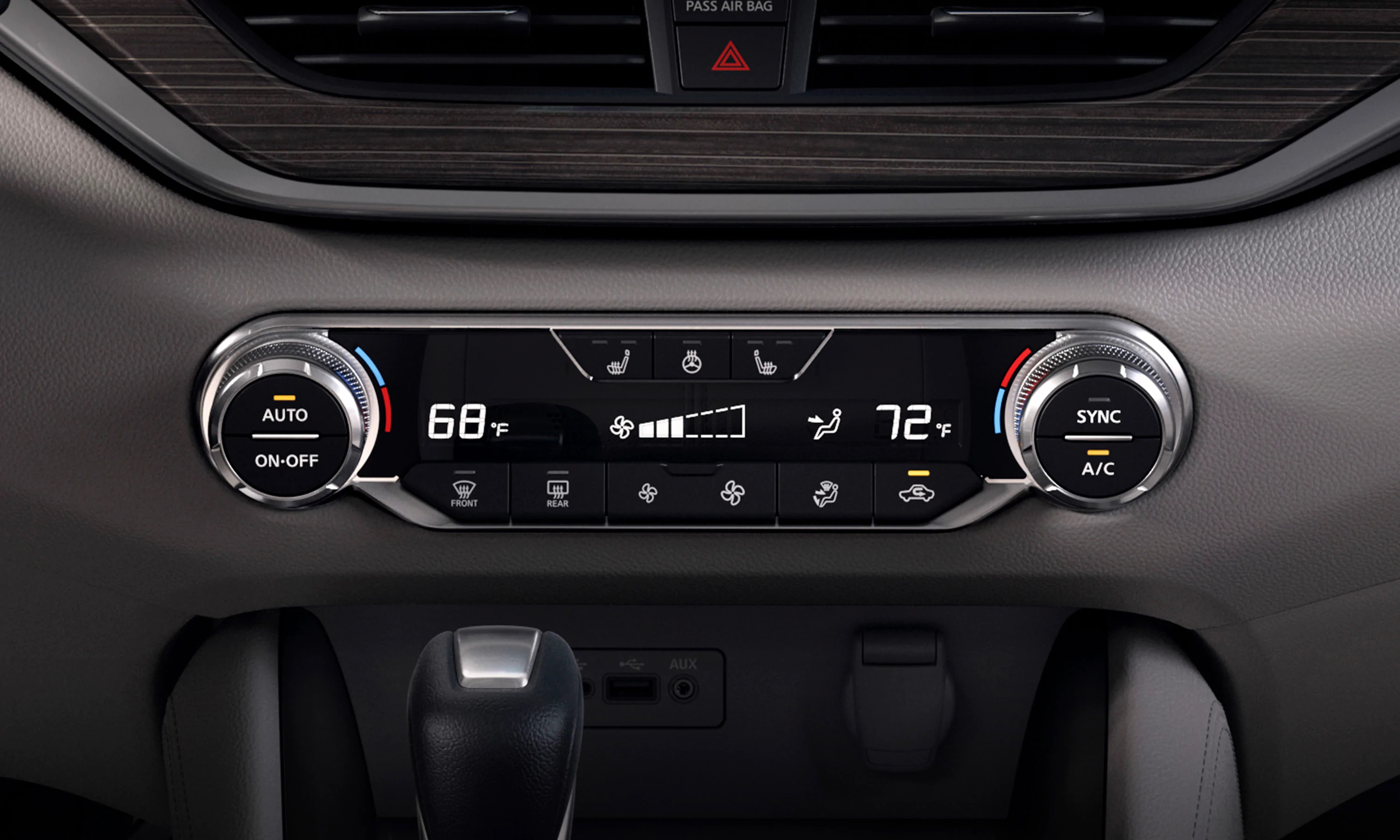 Available Dual Zone Automatic Temperature Control