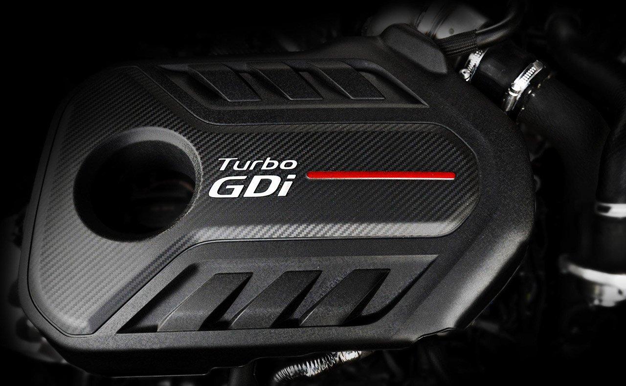 Motor turboalimentado de 2.0L del Kia Optima SX 2019