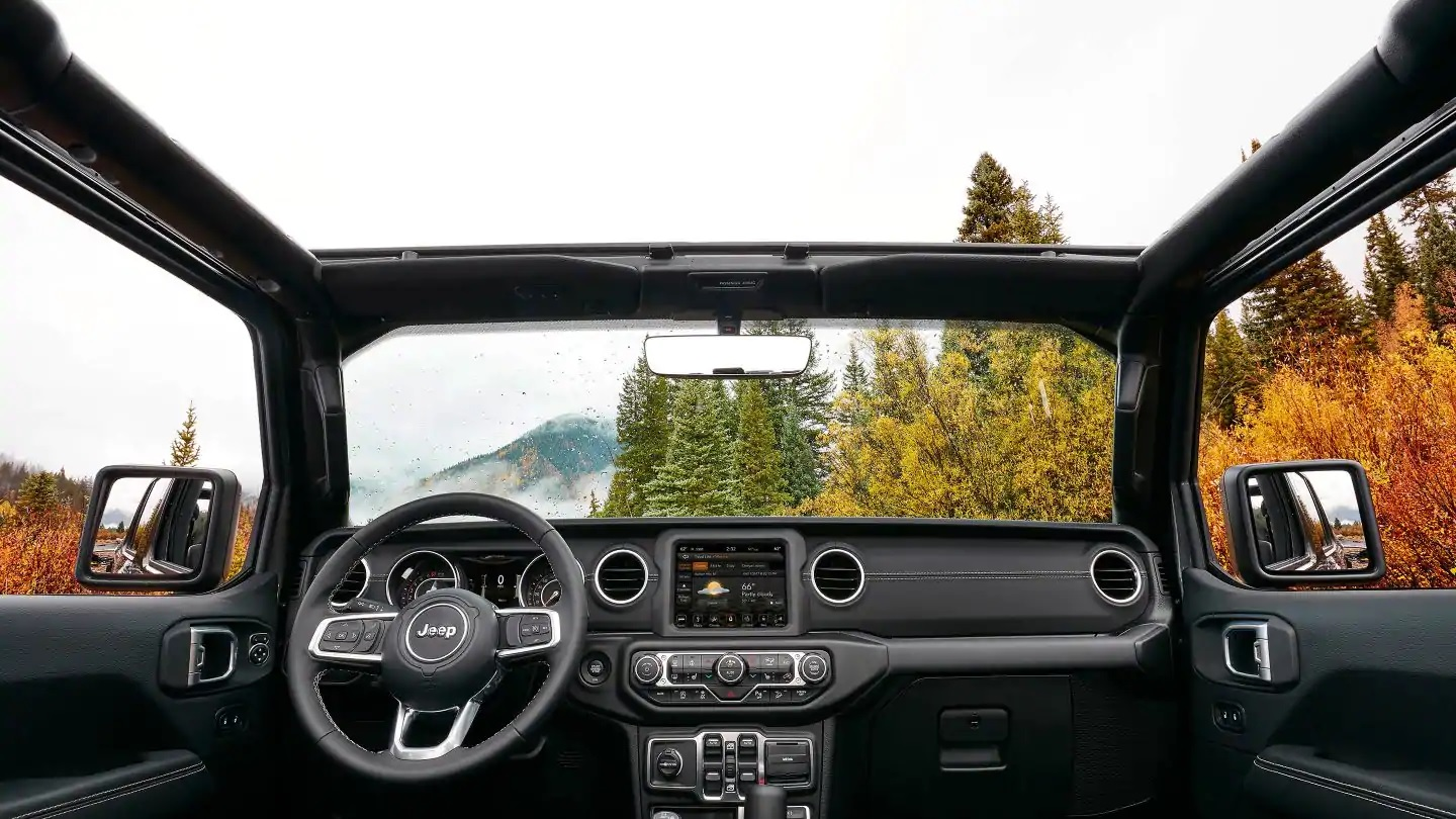 2019 Jeep Wrangler Front-Row Seating