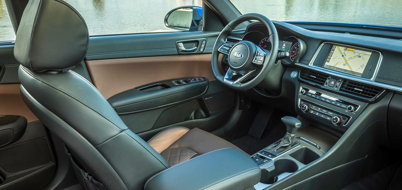 The Optima's Plush Interior