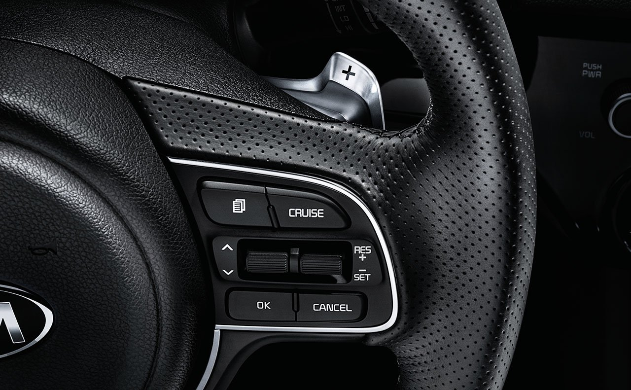 Sporty Touches in the Sportage!