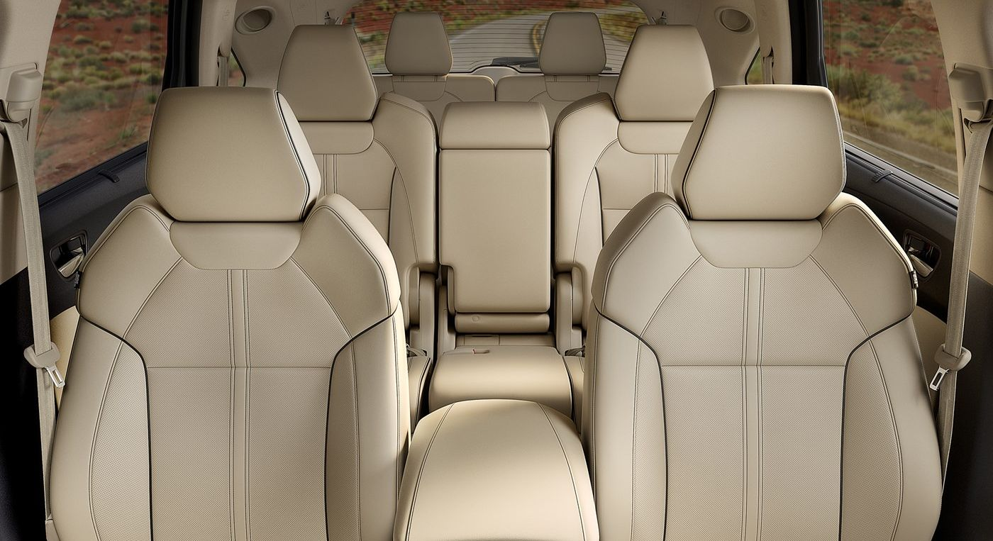 Three-Row Seating in the Acura MDX