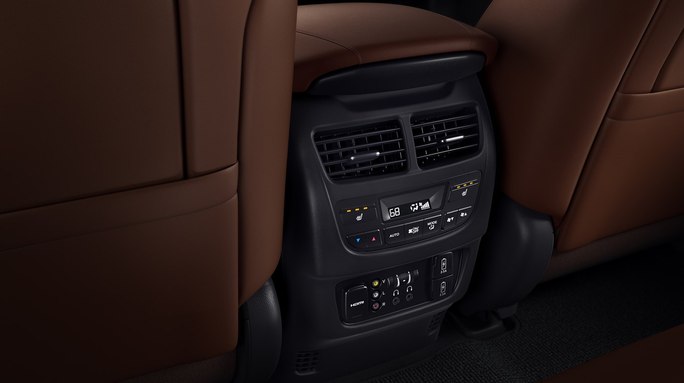 Rear Climate Control in the 2019 MDX