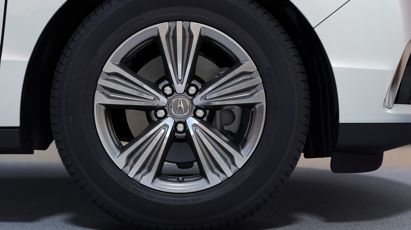 Striking Wheel Design of the Acura MDX
