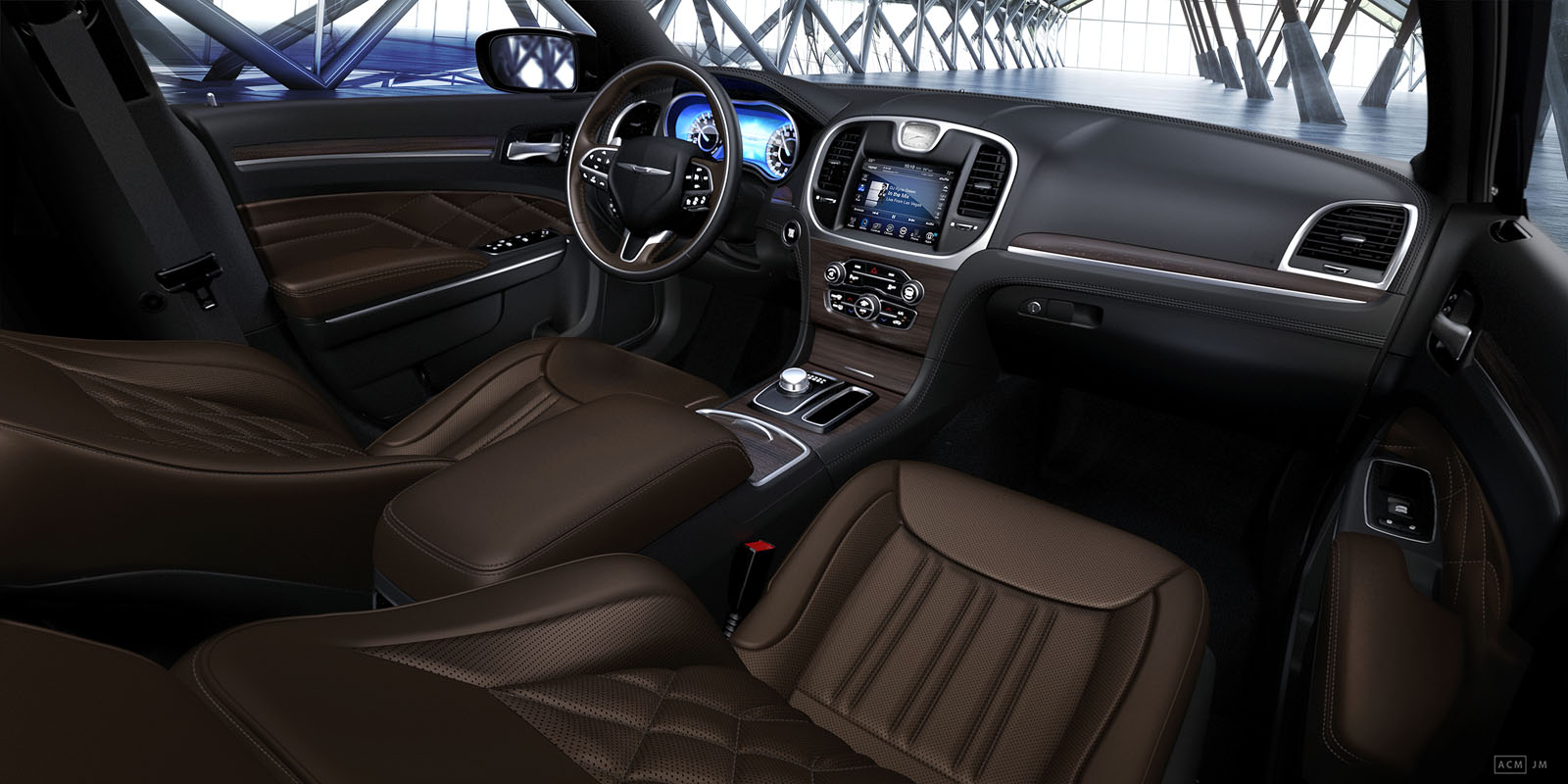 2019 Chrysler 300 Center Console