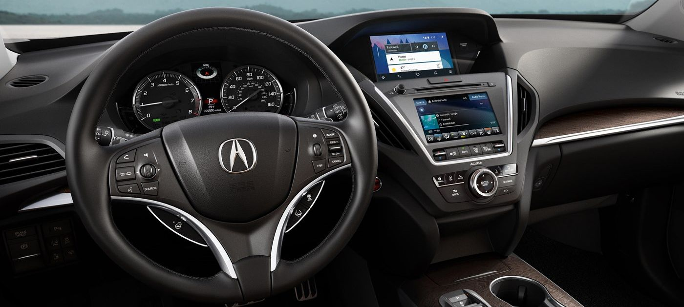 Interior of the 2019 MDX