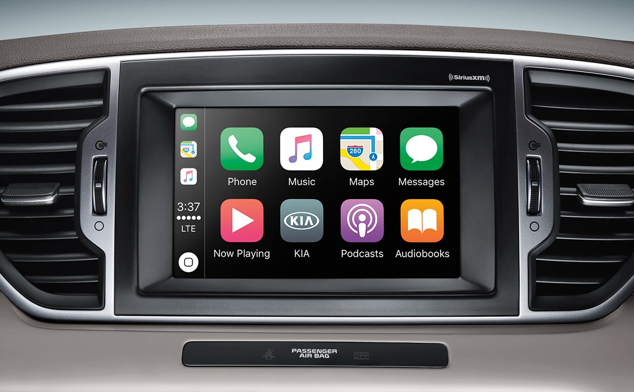 All Your Media at Your Fingertips in the Sportage!