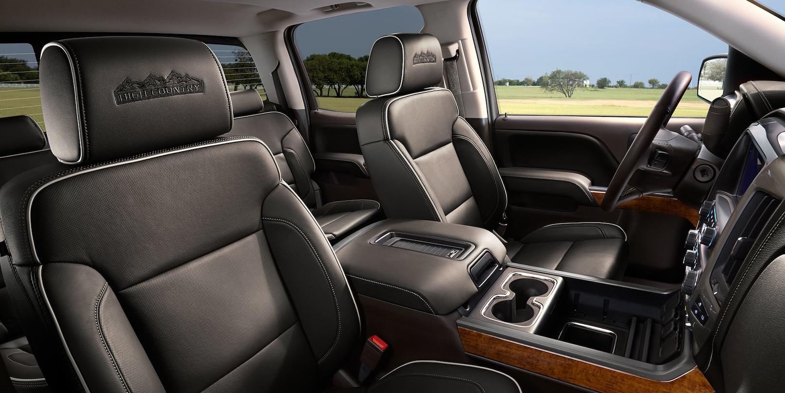 The Silverado 1500's Luxurious Interior