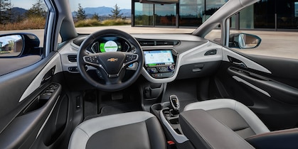 Interior of the 2019 Chevrolet Bolt EV