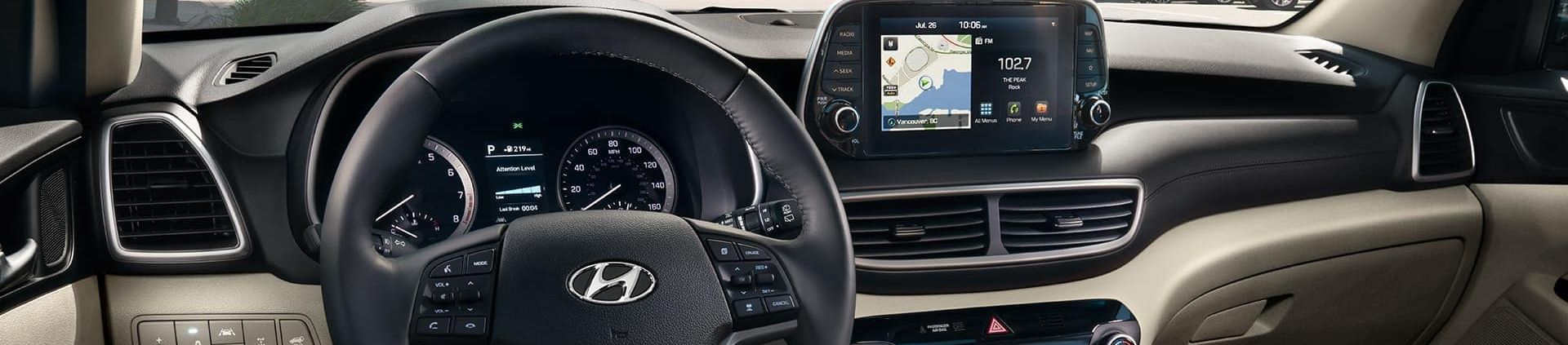2019 Hyundai Tucson Center Console