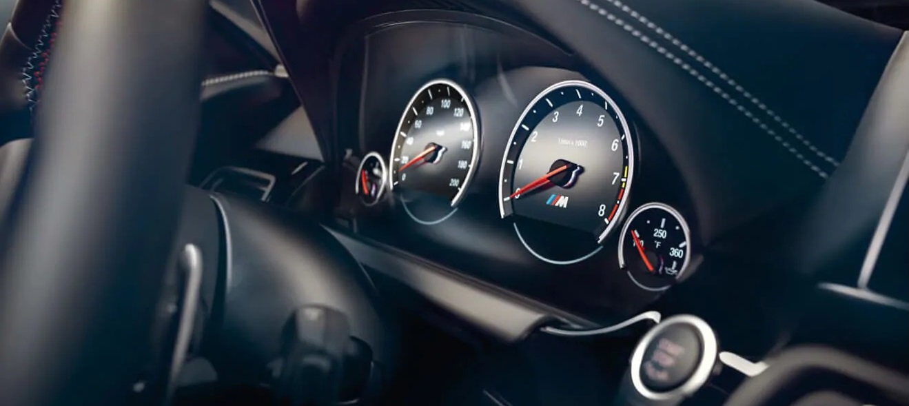 M6 Gran Coupe's Sophisticated Instrument Cluster