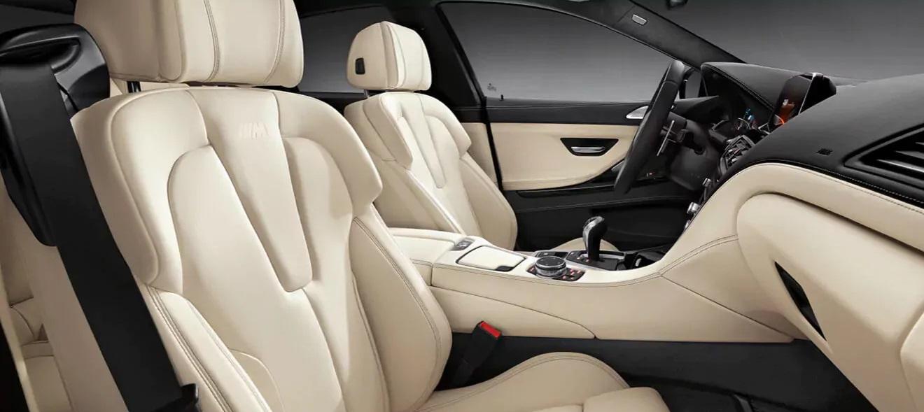 M6 Gran Coupe's Stylish Interior