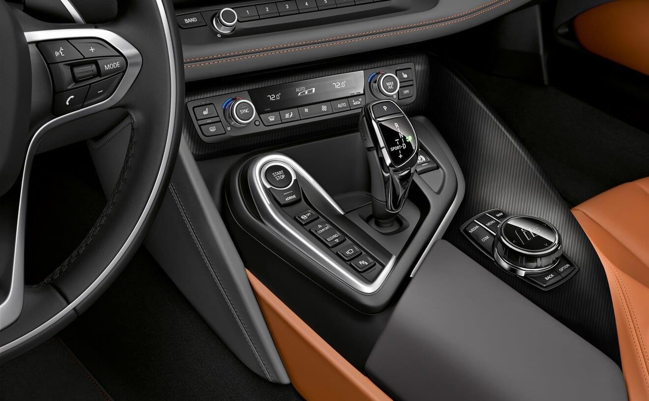 2019 BMW i8 Center Console