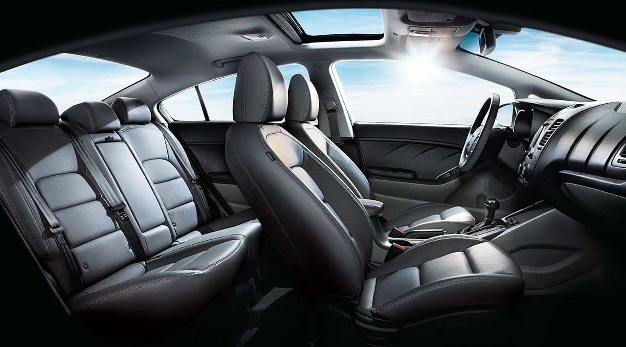 Available Heated Front Seats in the Forte