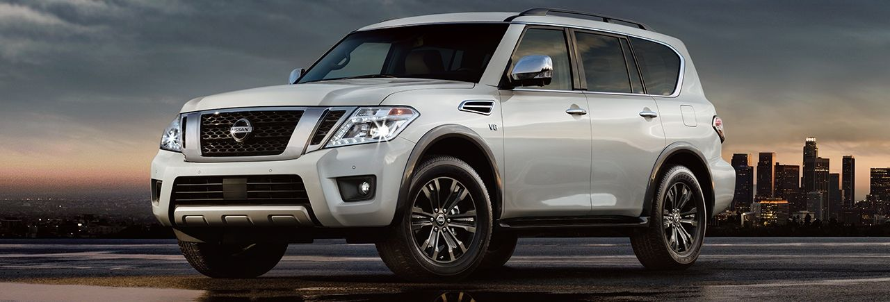 2019 Nissan Armada Features near Sudbury, MA