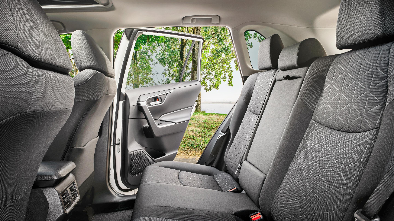 Cozy Rear Seats of the Toyota RAV4