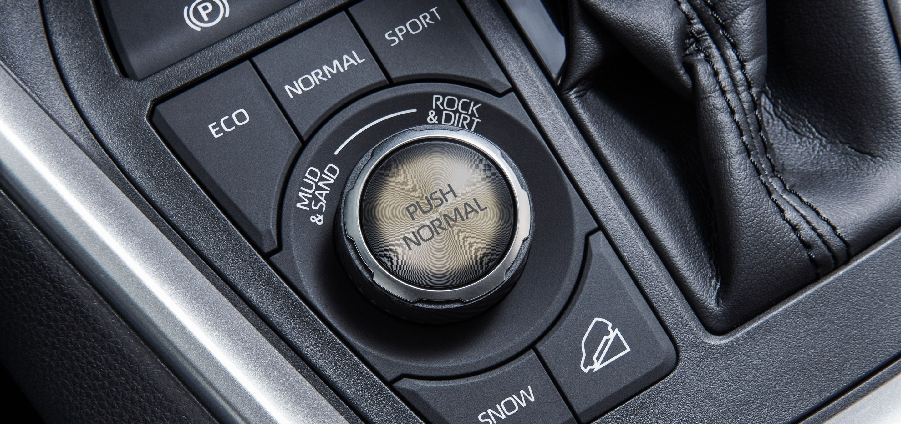 Drive Mode Selector in the Toyota RAV4