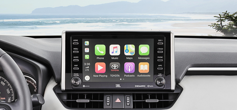 Apple CarPlay Technology in the 2019 RAV4