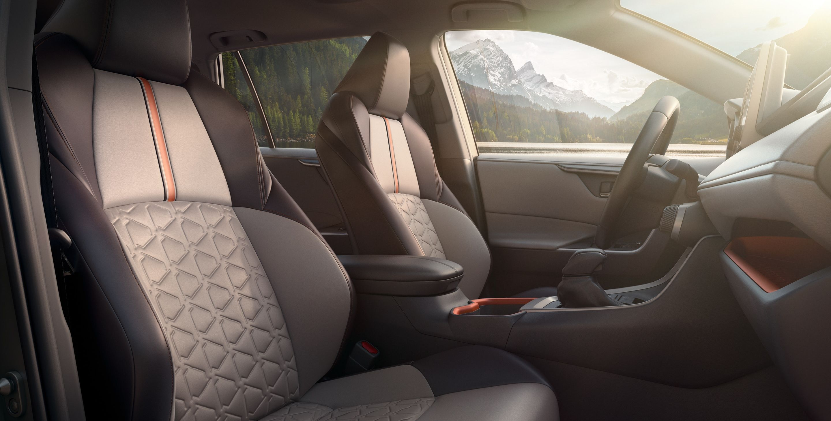 Stylish Interior of the 2019 RAV4