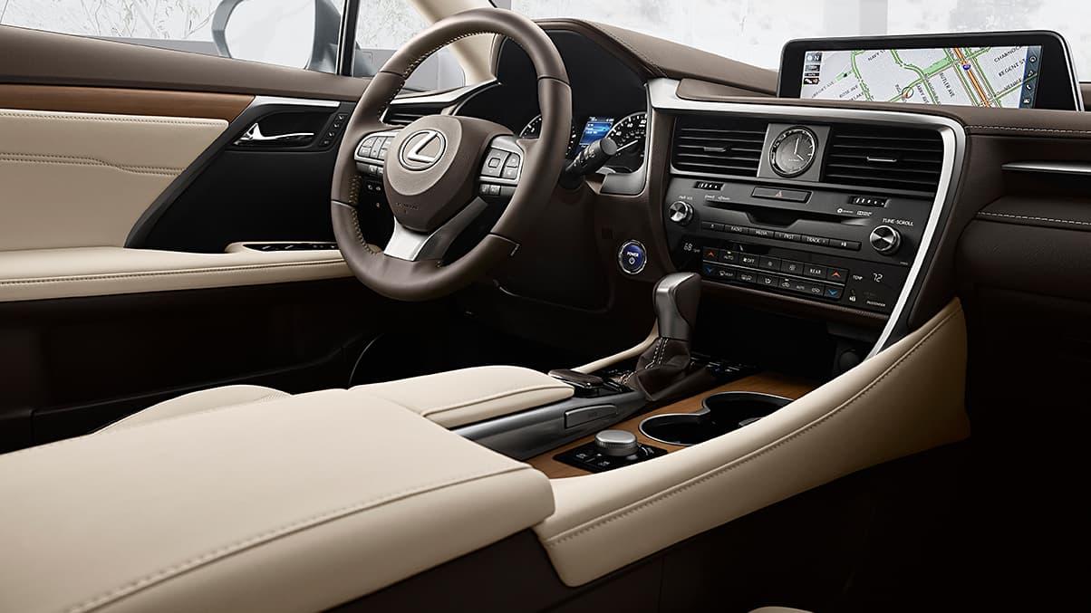 RX 450h Interior