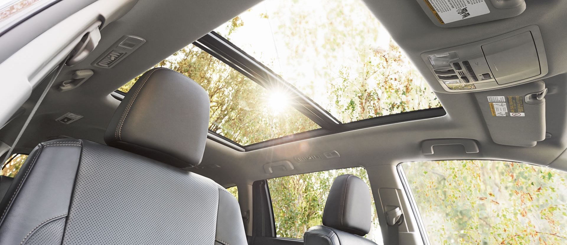 The Highlander's Stunning Sunroof