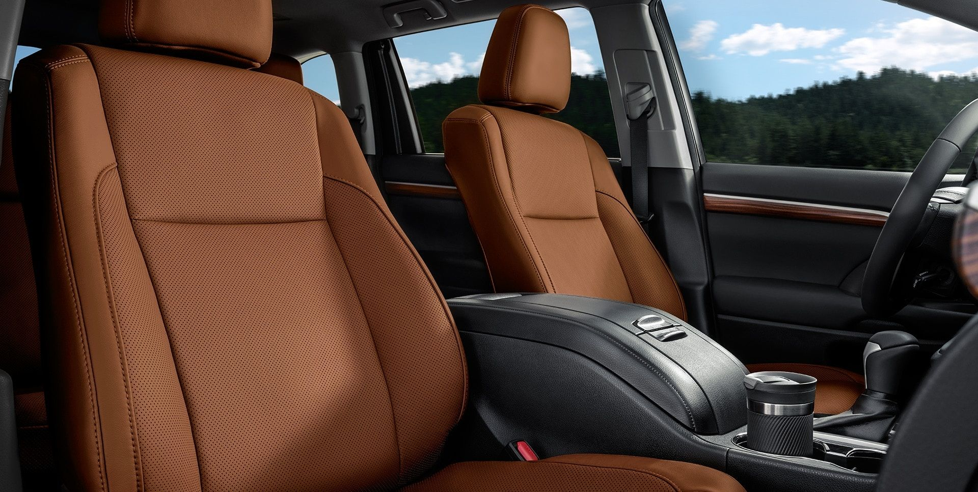 Luxurious Seating Options in the Highlander