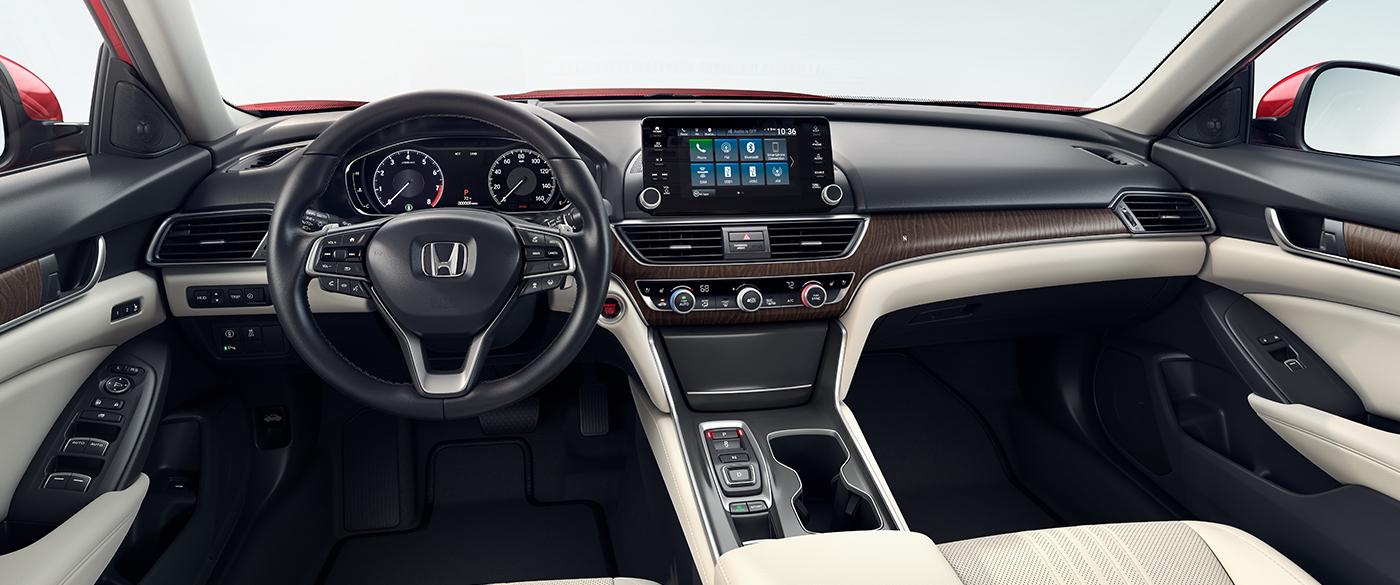 2019 Honda Accord Cockpit