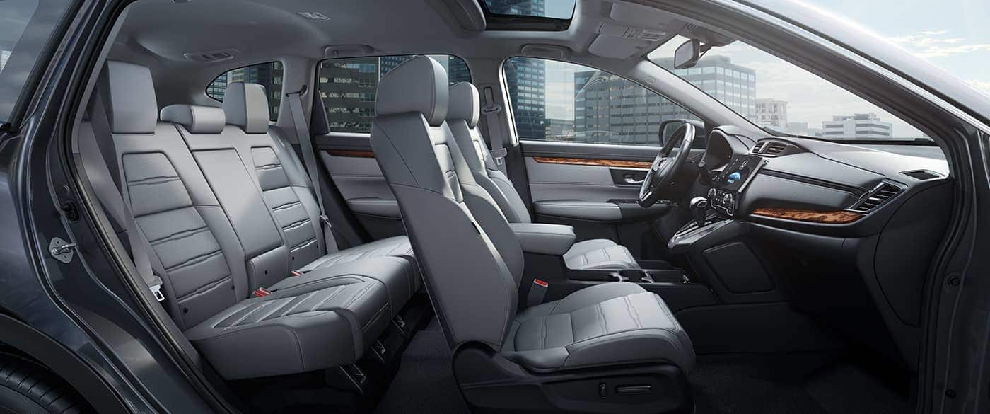 Interior of the 2019 Honda CR-V
