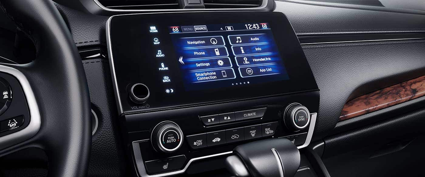 All Your Media at Your Fingertips in the CR-V!