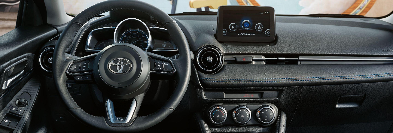 Stylish Dashboard of the 2019 Toyota Yaris