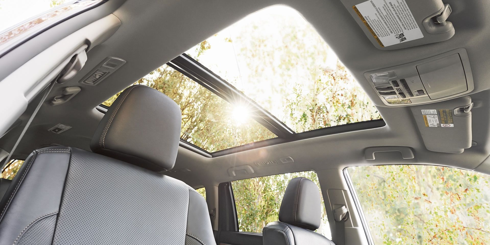 Let the Outside in with the Highlander's Expansive Moonroof!