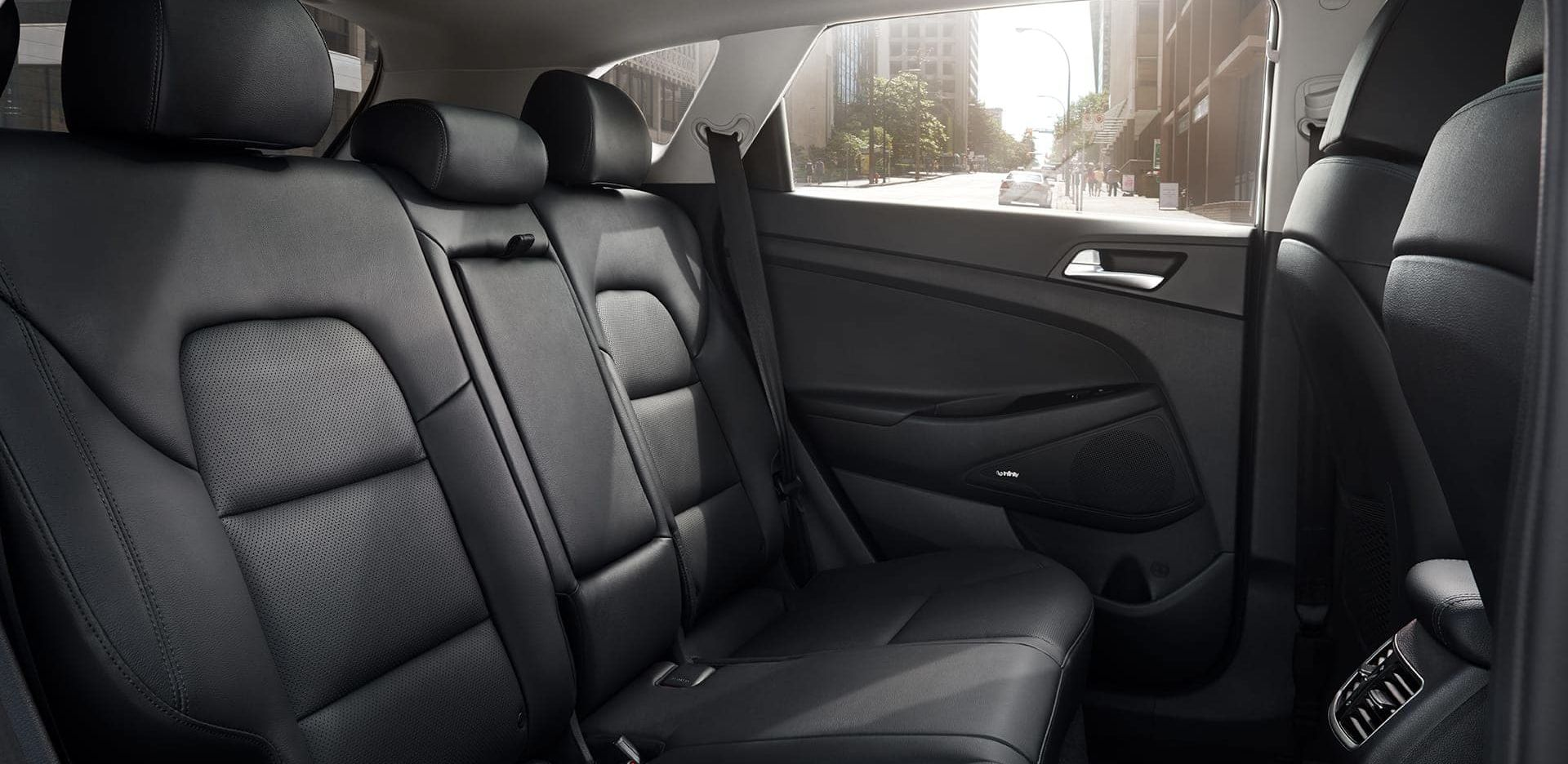 Rear Seating in the Tucson