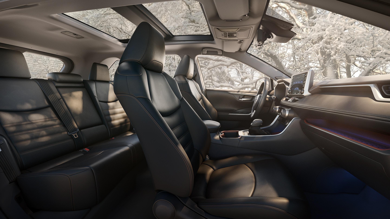 Check Out The RAV4's Spacious Interior!