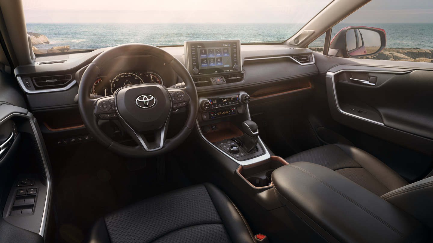 2019 Toyota RAV4 Center Console