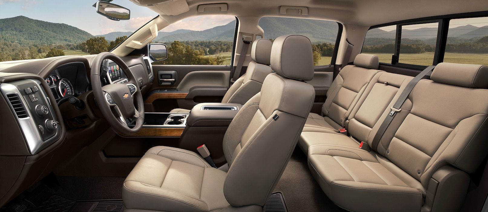 Enjoy Optimum Comfort During Any Drive in the Silverado 1500!