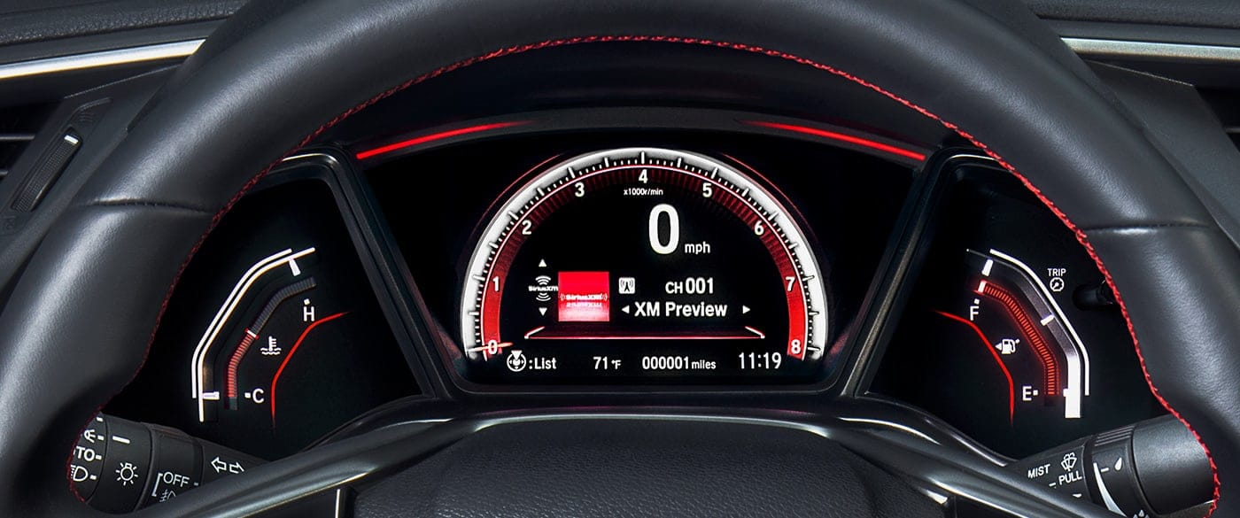 2019 Honda Civic HUD